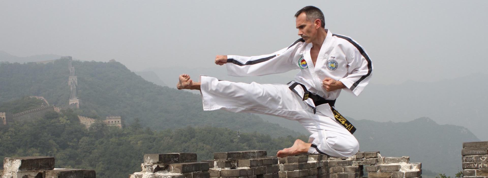 Master Millis on China Wall